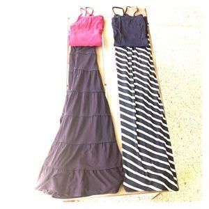 Maxi skirt bundle + tanks